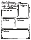 Prayer Reminder Coloring Page