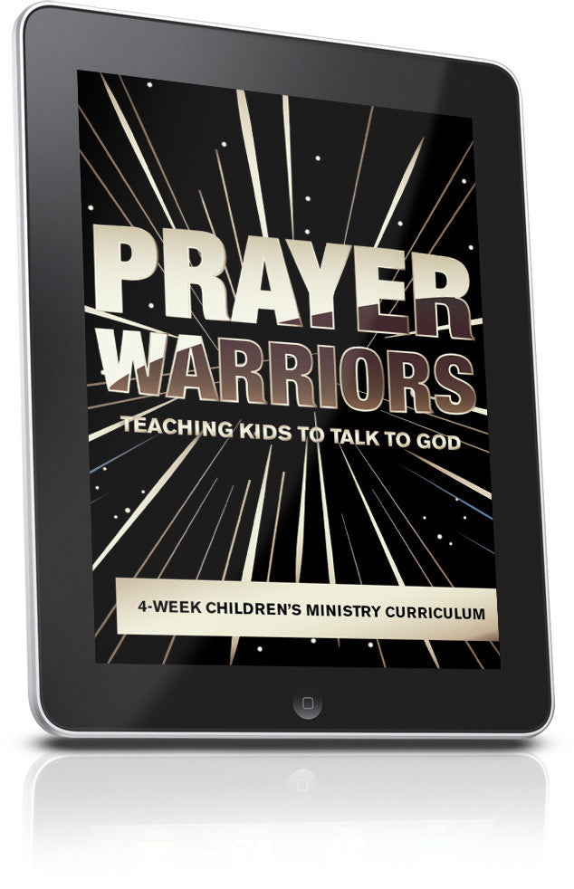 FREE Prayer Warriors Children's Ministry Lesson