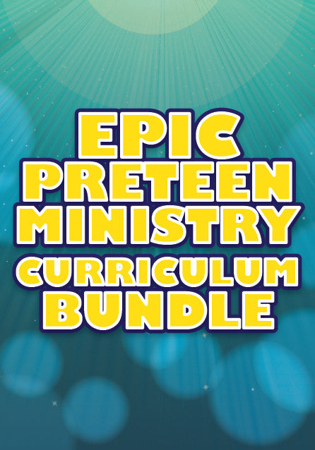 $97 for $1,800 of Preteen Ministry Curriculum
