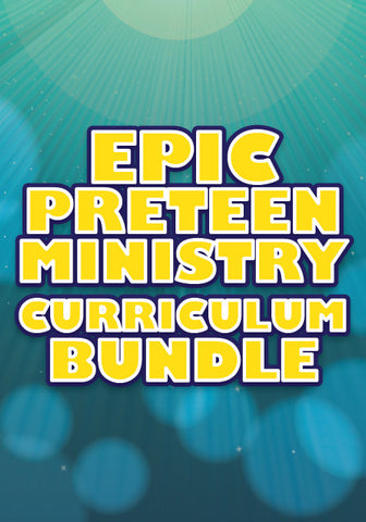 $97 for $1,700 of Preteen Ministry Curriculum