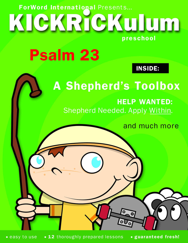 Psalm 23 12-Week Preschool Curriculum