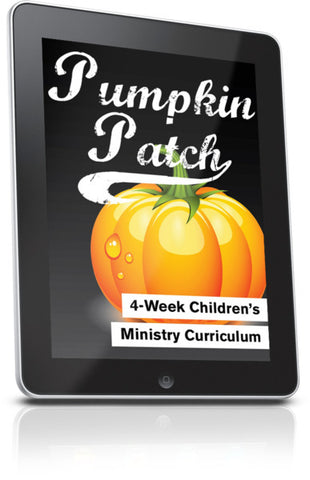 FREE Pumpkin Patch Children's Ministry Lesson