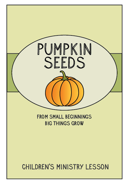Fall children 39 s ministry lesson seeds children 39 s for Junior church lessons and crafts