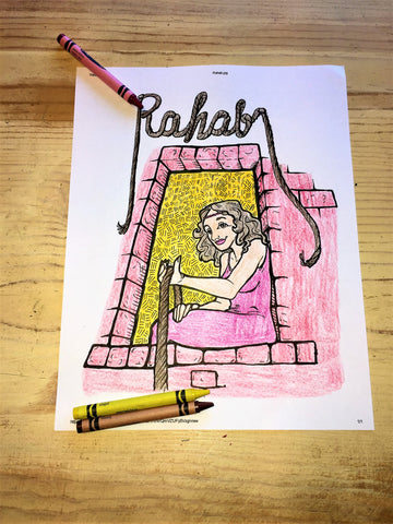 Women of the Bible Coloring Pages