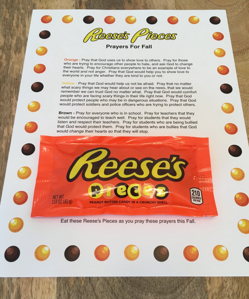 Reese S Pieces Prayer For Fall Children S Ministry Deals