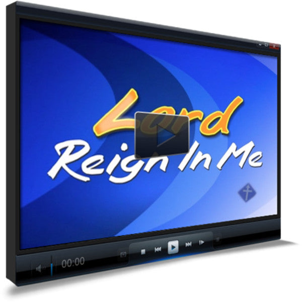 Lord Reign In Me Children's Ministry Worship Video