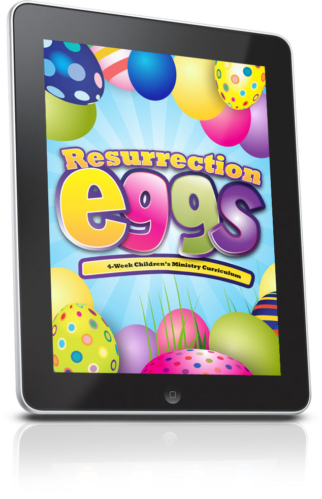 Resurrection Eggs Children's Ministry Sample Lesson