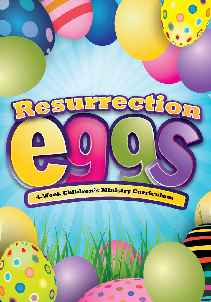 Resurrection Eggs 4-Week Children's Ministry Curriculum