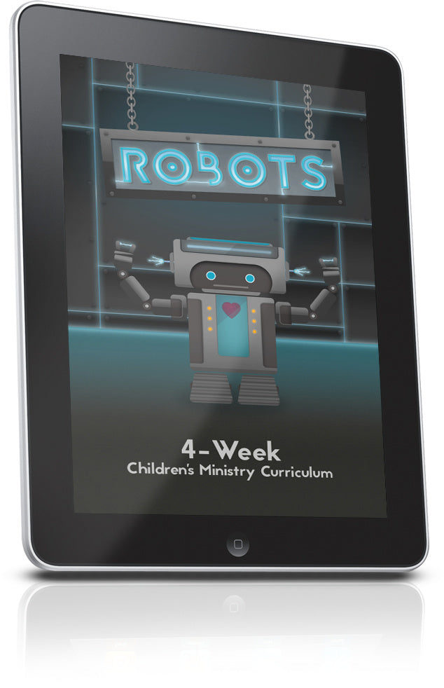 FREE Robots Children's Ministry Lesson