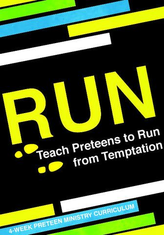 Run 4-Week Preteen Ministry Curriculum