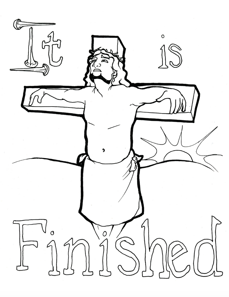 The Bible Coloring Page Book