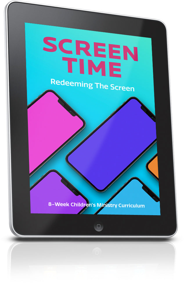 FREE Screen Time Sunday School Lesson