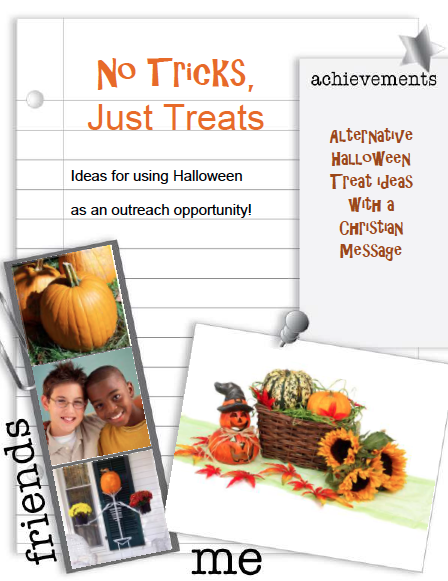 No Tricks, Just Treats - Halloween Treat Ideas with a Christian Message