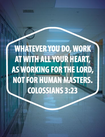 Work For The Lord Printable Bible Artwork