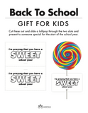Back to School Gift for Kids