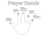 Prayer Hands Coloring Page