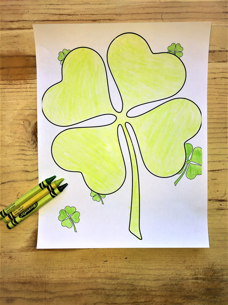Shamrock Coloring Page – Children\'s Ministry Deals