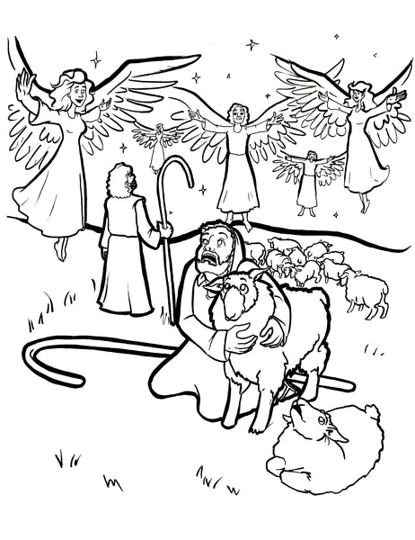 Free Angel Coloring Pages , letscoloringpages.com , Angel Free ... | 600x462
