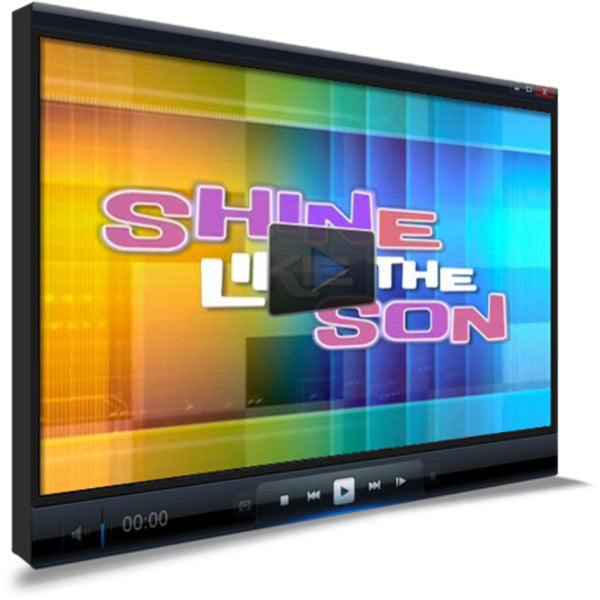 Shine Like The Son Children's Ministry Worship Video