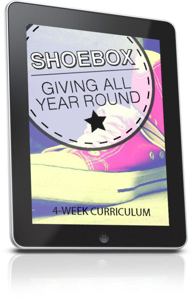 Shoebox Week 1 Lesson: Why We Give