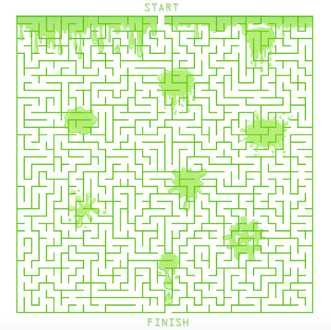 Slime Maze Game for Kids
