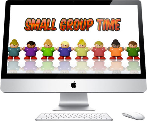 Small Group Time Children's Church Graphic