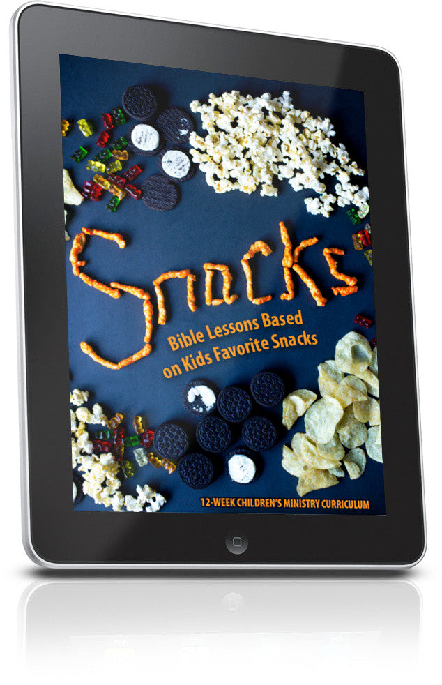 FREE Snacks Children's Ministry Lesson