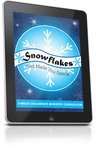 FREE Snowflakes Children's Ministry Lesson