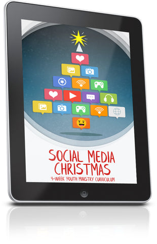 FREE Social Media Christmas Youth Ministry Lesson