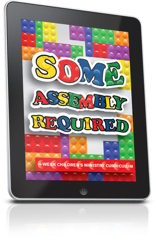 FREE Some Assembly Required Children's Ministry Lesson