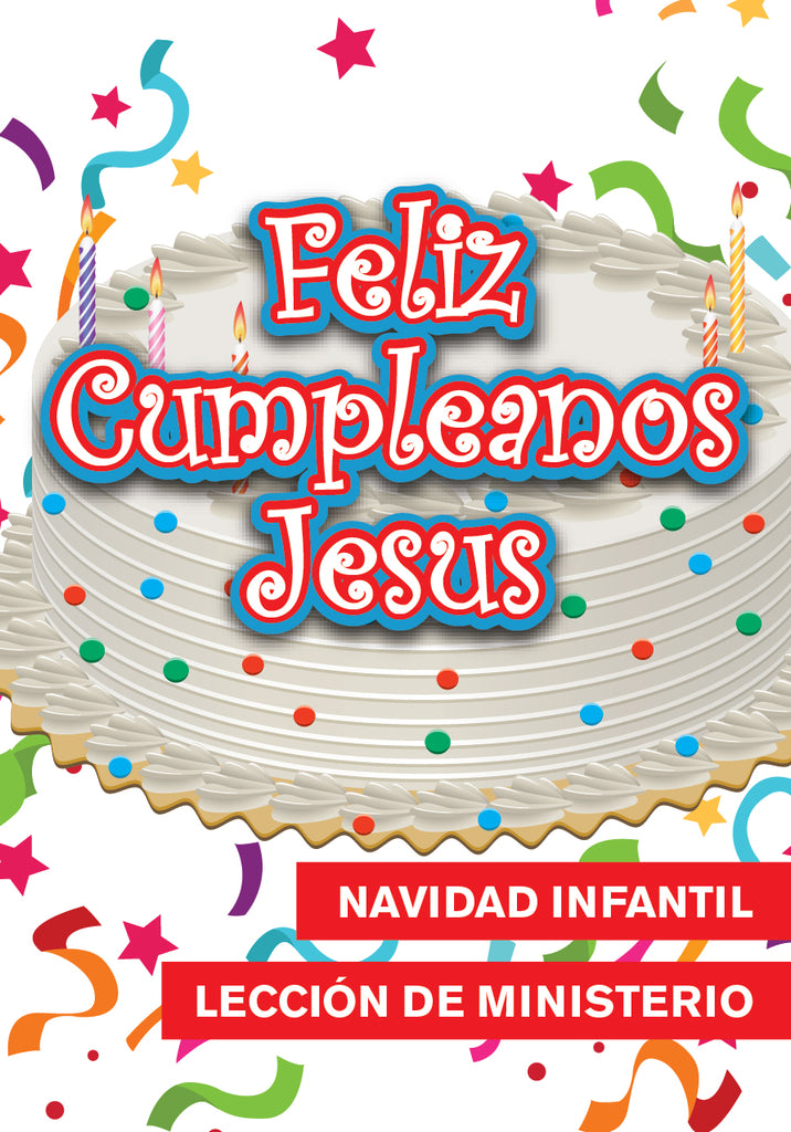 Happy Birthday Jesus Christmas Children's Church Lesson - Spanish