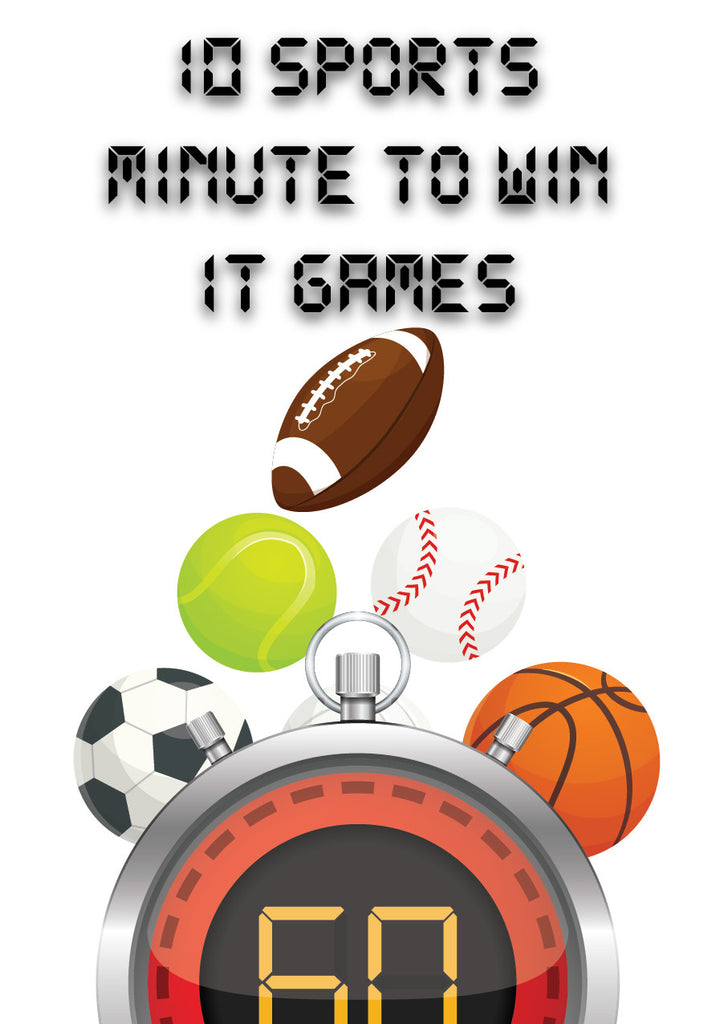 Free Sports Minute to Win It Games