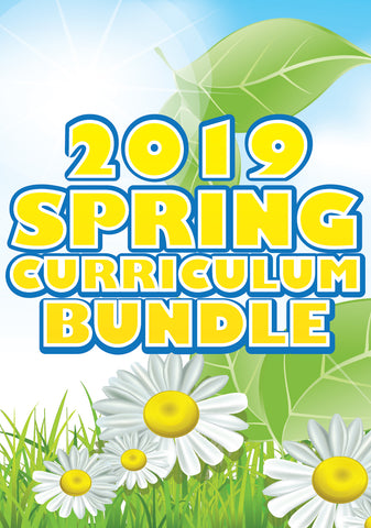 Spring Children's Ministry Curriculum Bundle