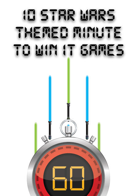Star Wars Minute to Win It Games