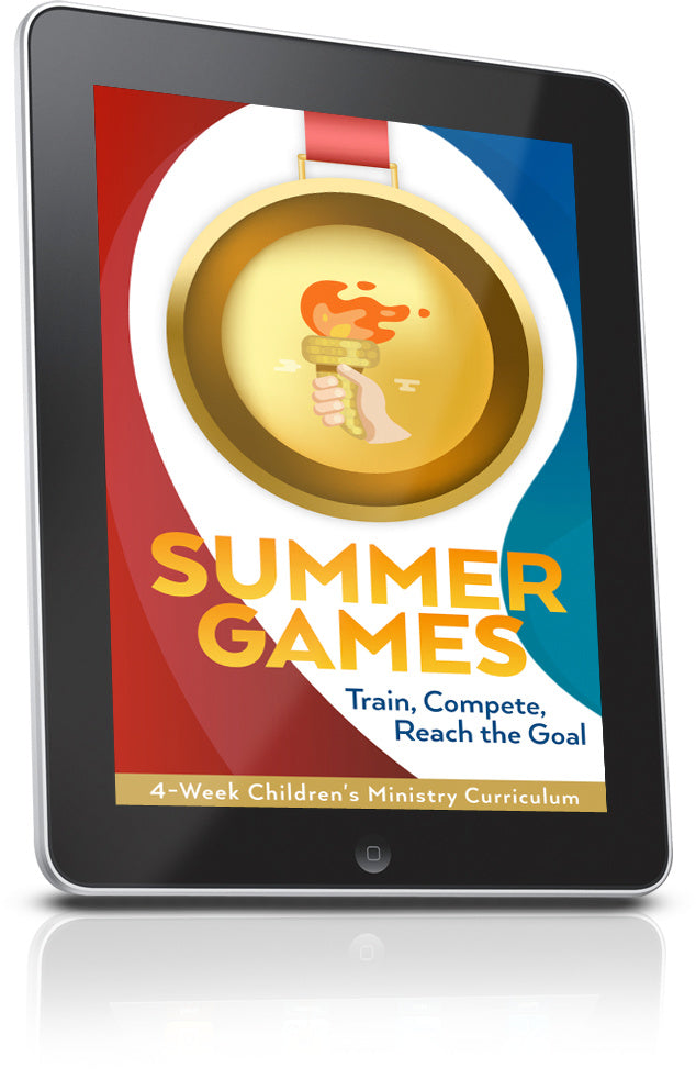 FREE Summer Games Sunday School Lesson