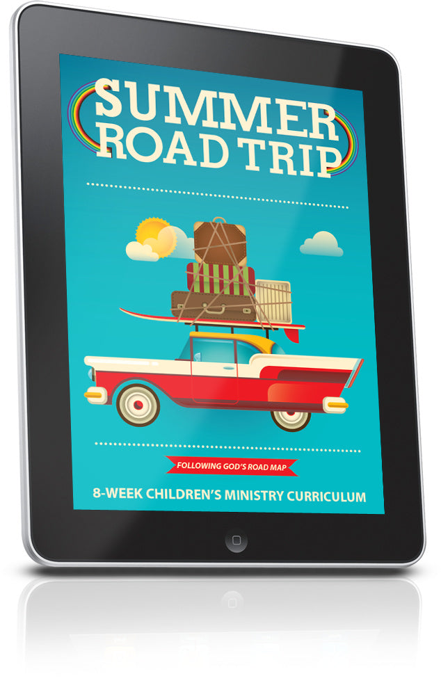 FREE Summer Road Trip Children's Ministry Lesson