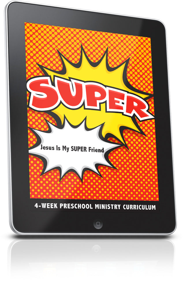 FREE SUPER Preschool Ministry Curriculum