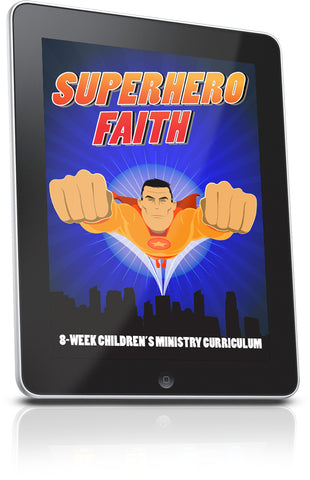 FREE Superhero Faith Children's Ministry Lesson