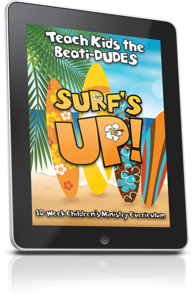 FREE Surfs Up Children's Ministry Lesson