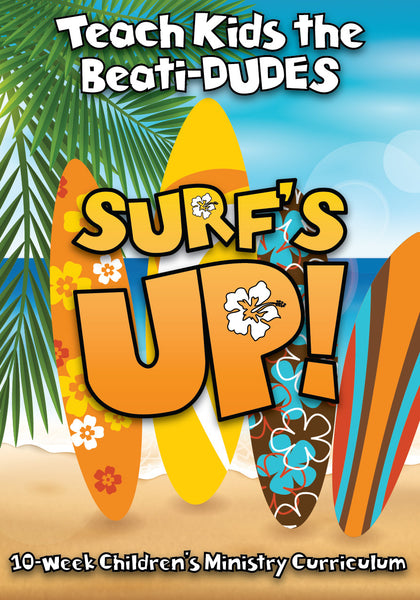 Surf S Up Children S Church Curriculum Children S