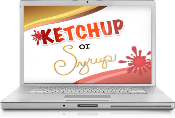 Ketchup or Syrup PowerPoint Game