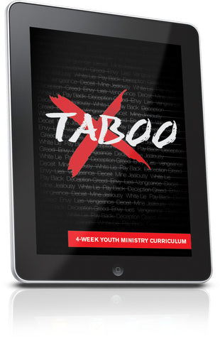 FREE Taboo Youth Ministry Lesson