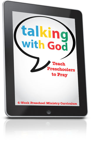 FREE Talking With Preschool Ministry Lesson