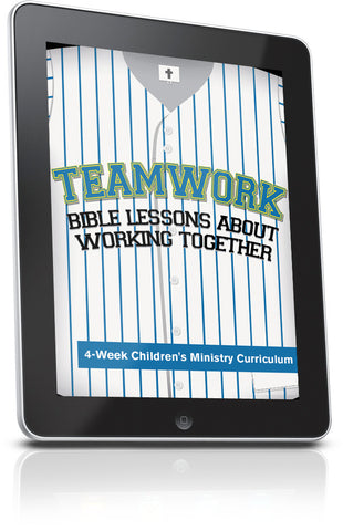 FREE Teamwork Children's Ministry Lesson