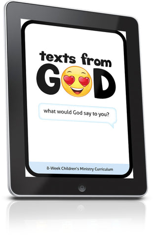 FREE Texts from God Sunday School Lesson
