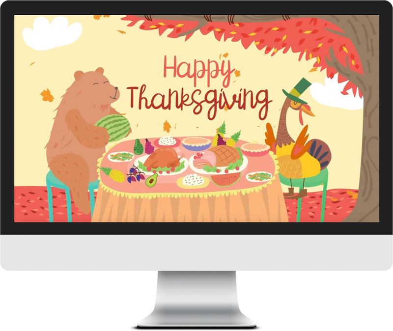 Thanksgiving Kids Church Game Videos Pack
