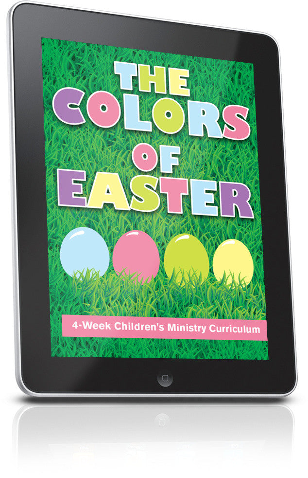 FREE The Colors Of Easter Childrens Ministry Lesson