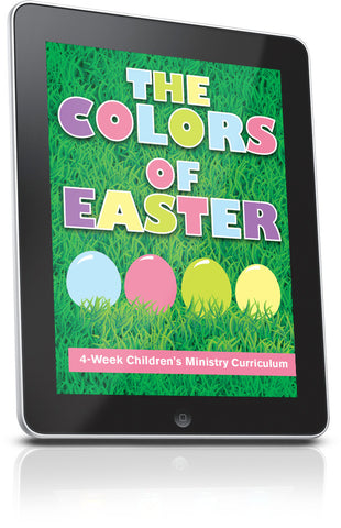 FREE The Colors of Easter Children's Ministry Lesson