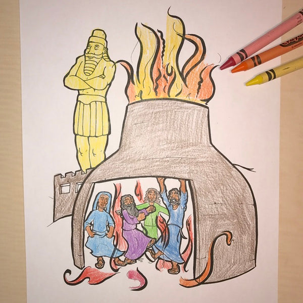 - FREE Fiery Furnace Coloring Page