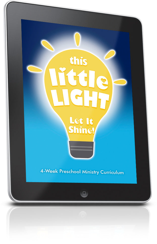 This Little Light Preschool Ministry Curriculum